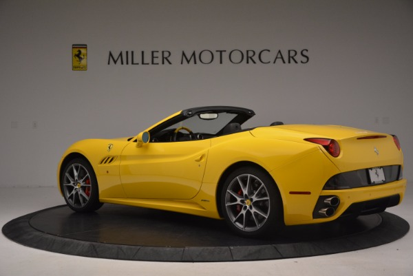 Used 2011 Ferrari California for sale Sold at Rolls-Royce Motor Cars Greenwich in Greenwich CT 06830 4