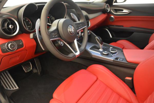 New 2017 Alfa Romeo Giulia Ti Sport Q4 for sale Sold at Rolls-Royce Motor Cars Greenwich in Greenwich CT 06830 13