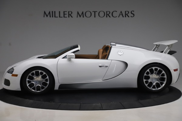 Used 2011 Bugatti Veyron 16.4 Grand Sport for sale Call for price at Rolls-Royce Motor Cars Greenwich in Greenwich CT 06830 3