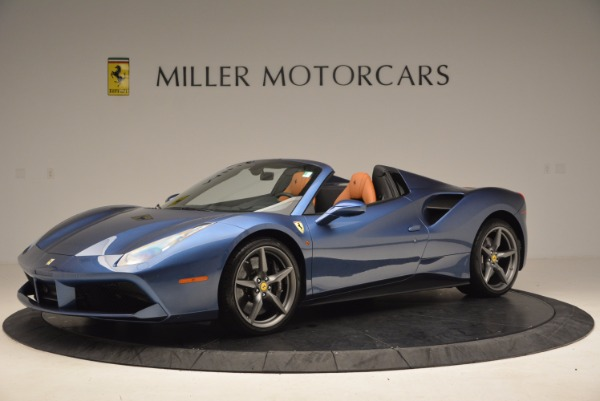 Used 2017 Ferrari 488 Spider for sale Sold at Rolls-Royce Motor Cars Greenwich in Greenwich CT 06830 2