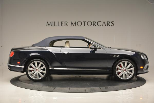 Used 2016 Bentley Continental GT V8 S Convertible for sale Sold at Rolls-Royce Motor Cars Greenwich in Greenwich CT 06830 21