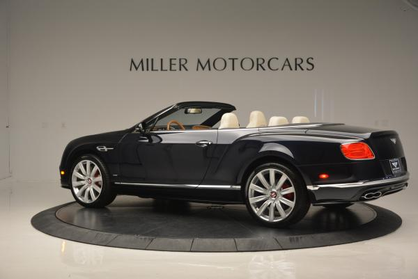 Used 2016 Bentley Continental GT V8 S Convertible for sale Sold at Rolls-Royce Motor Cars Greenwich in Greenwich CT 06830 4