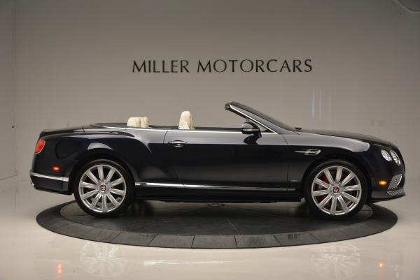 Used 2016 Bentley Continental GT V8 S Convertible for sale Sold at Rolls-Royce Motor Cars Greenwich in Greenwich CT 06830 9