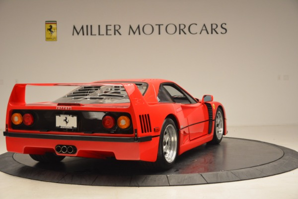 Used 1992 Ferrari F40 for sale Sold at Rolls-Royce Motor Cars Greenwich in Greenwich CT 06830 8