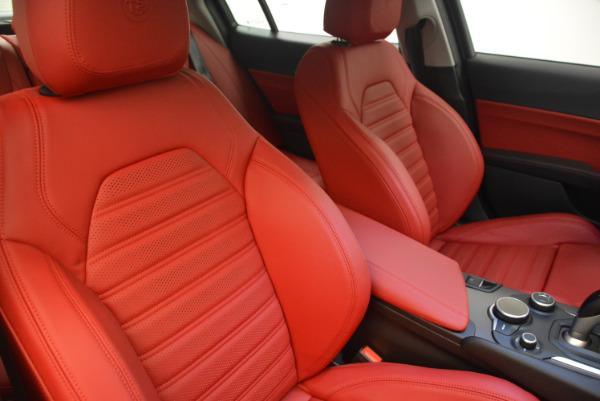 New 2017 Alfa Romeo Giulia Ti Sport Q4 for sale Sold at Rolls-Royce Motor Cars Greenwich in Greenwich CT 06830 21