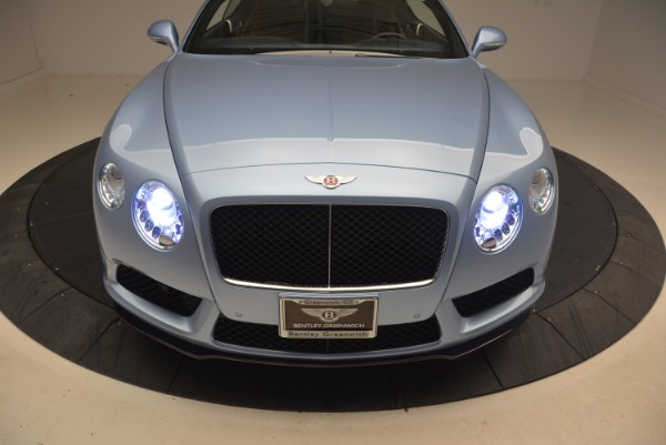 Used 2015 Bentley Continental GT V8 S for sale Sold at Rolls-Royce Motor Cars Greenwich in Greenwich CT 06830 17