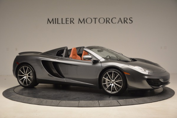 Used 2014 McLaren MP4-12C SPIDER Convertible for sale Sold at Rolls-Royce Motor Cars Greenwich in Greenwich CT 06830 10