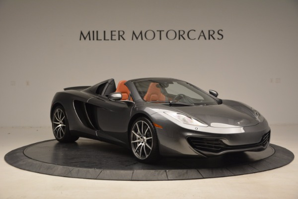 Used 2014 McLaren MP4-12C SPIDER Convertible for sale Sold at Rolls-Royce Motor Cars Greenwich in Greenwich CT 06830 11