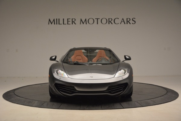 Used 2014 McLaren MP4-12C SPIDER Convertible for sale Sold at Rolls-Royce Motor Cars Greenwich in Greenwich CT 06830 12