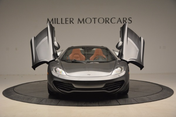 Used 2014 McLaren MP4-12C SPIDER Convertible for sale Sold at Rolls-Royce Motor Cars Greenwich in Greenwich CT 06830 13