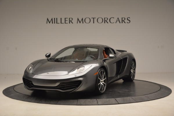 Used 2014 McLaren MP4-12C SPIDER Convertible for sale Sold at Rolls-Royce Motor Cars Greenwich in Greenwich CT 06830 14
