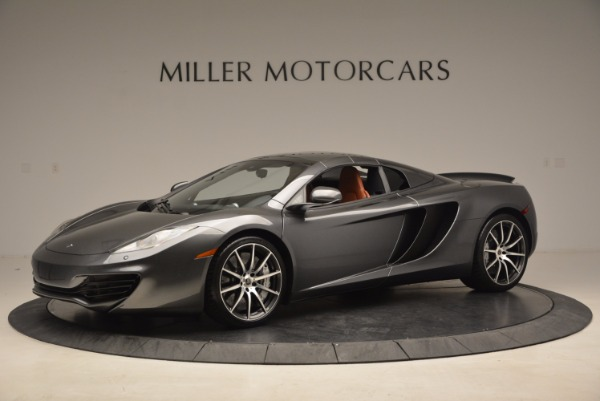 Used 2014 McLaren MP4-12C SPIDER Convertible for sale Sold at Rolls-Royce Motor Cars Greenwich in Greenwich CT 06830 15