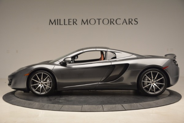 Used 2014 McLaren MP4-12C SPIDER Convertible for sale Sold at Rolls-Royce Motor Cars Greenwich in Greenwich CT 06830 16