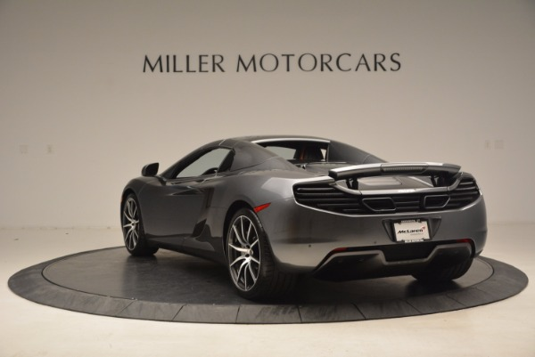Used 2014 McLaren MP4-12C SPIDER Convertible for sale Sold at Rolls-Royce Motor Cars Greenwich in Greenwich CT 06830 18