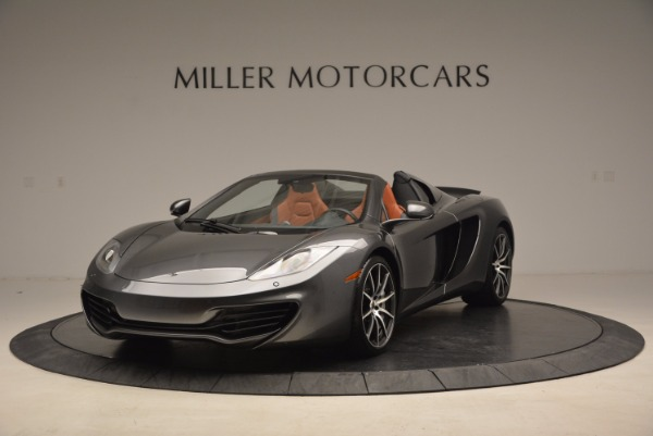 Used 2014 McLaren MP4-12C SPIDER Convertible for sale Sold at Rolls-Royce Motor Cars Greenwich in Greenwich CT 06830 2