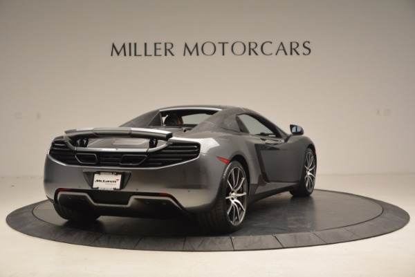Used 2014 McLaren MP4-12C SPIDER Convertible for sale Sold at Rolls-Royce Motor Cars Greenwich in Greenwich CT 06830 20