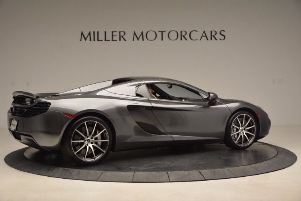 Used 2014 McLaren MP4-12C SPIDER Convertible for sale Sold at Rolls-Royce Motor Cars Greenwich in Greenwich CT 06830 21