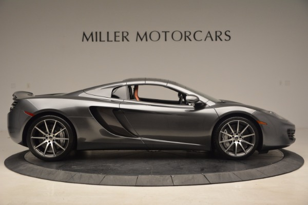 Used 2014 McLaren MP4-12C SPIDER Convertible for sale Sold at Rolls-Royce Motor Cars Greenwich in Greenwich CT 06830 22