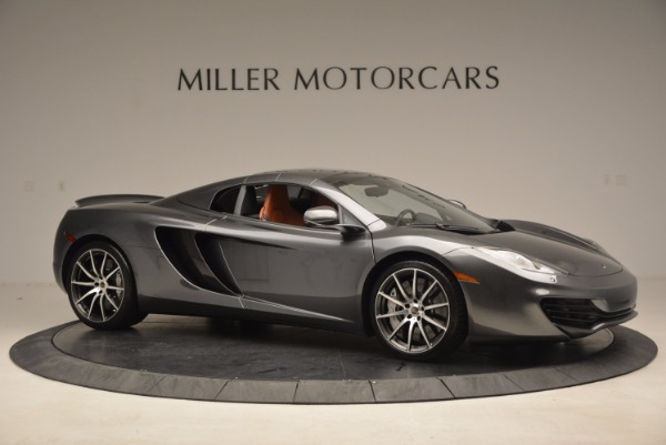 Used 2014 McLaren MP4-12C SPIDER Convertible for sale Sold at Rolls-Royce Motor Cars Greenwich in Greenwich CT 06830 23