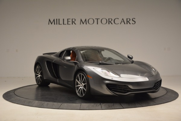Used 2014 McLaren MP4-12C SPIDER Convertible for sale Sold at Rolls-Royce Motor Cars Greenwich in Greenwich CT 06830 24