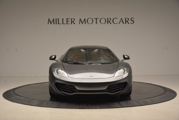 Used 2014 McLaren MP4-12C SPIDER Convertible for sale Sold at Rolls-Royce Motor Cars Greenwich in Greenwich CT 06830 25