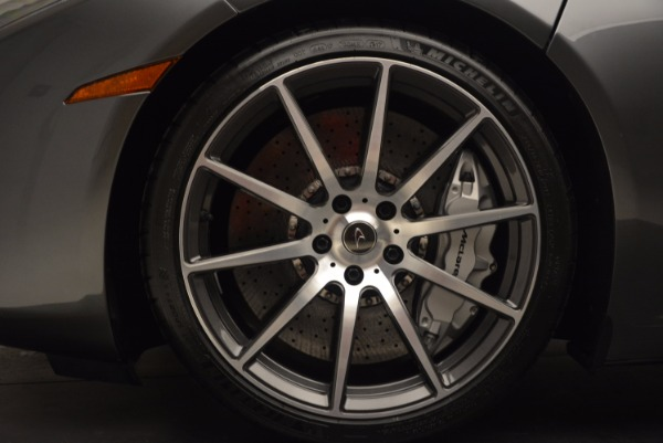 Used 2014 McLaren MP4-12C SPIDER Convertible for sale Sold at Rolls-Royce Motor Cars Greenwich in Greenwich CT 06830 26