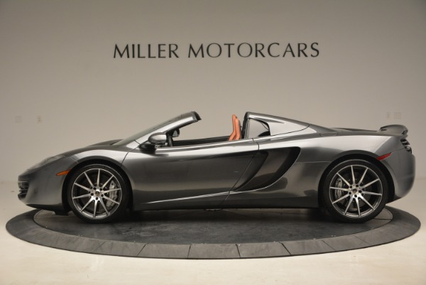 Used 2014 McLaren MP4-12C SPIDER Convertible for sale Sold at Rolls-Royce Motor Cars Greenwich in Greenwich CT 06830 3