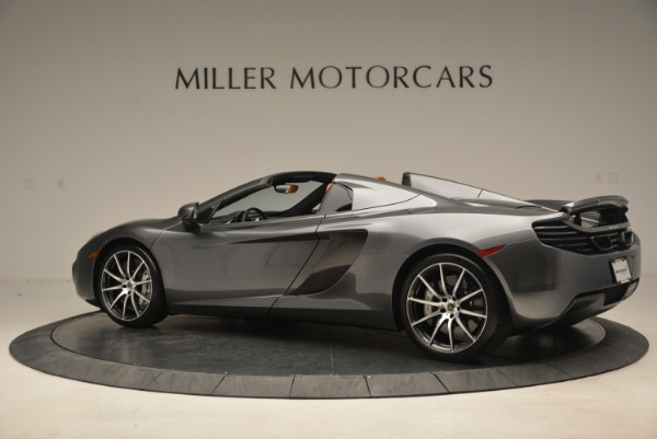 Used 2014 McLaren MP4-12C SPIDER Convertible for sale Sold at Rolls-Royce Motor Cars Greenwich in Greenwich CT 06830 4
