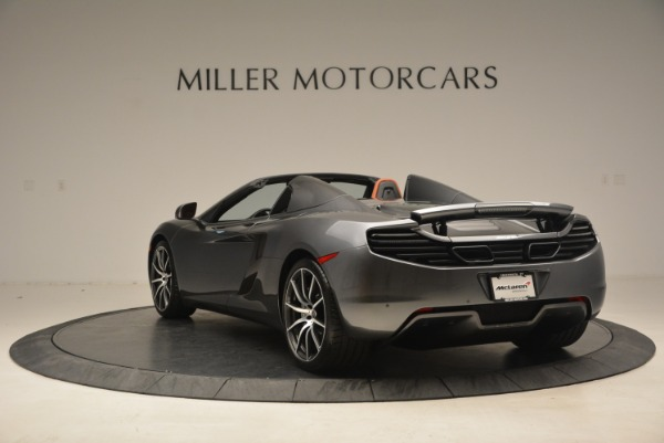 Used 2014 McLaren MP4-12C SPIDER Convertible for sale Sold at Rolls-Royce Motor Cars Greenwich in Greenwich CT 06830 5