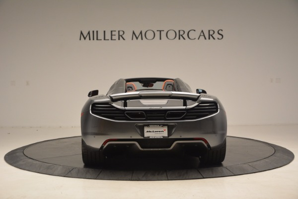 Used 2014 McLaren MP4-12C SPIDER Convertible for sale Sold at Rolls-Royce Motor Cars Greenwich in Greenwich CT 06830 6