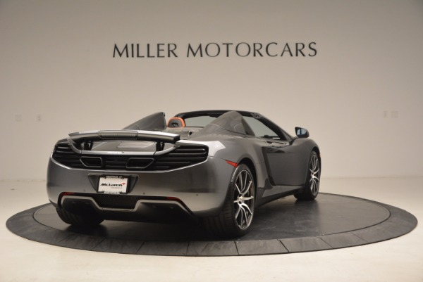 Used 2014 McLaren MP4-12C SPIDER Convertible for sale Sold at Rolls-Royce Motor Cars Greenwich in Greenwich CT 06830 7