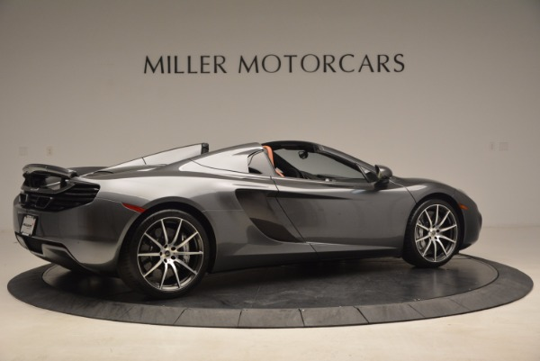 Used 2014 McLaren MP4-12C SPIDER Convertible for sale Sold at Rolls-Royce Motor Cars Greenwich in Greenwich CT 06830 8