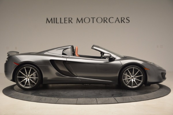 Used 2014 McLaren MP4-12C SPIDER Convertible for sale Sold at Rolls-Royce Motor Cars Greenwich in Greenwich CT 06830 9