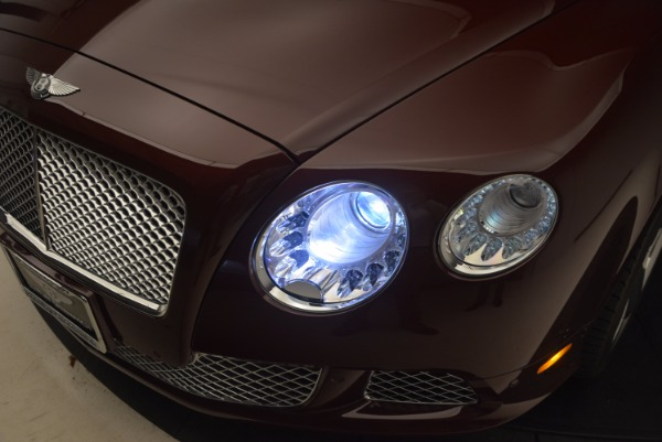 Used 2014 Bentley Continental GT W12 for sale Sold at Rolls-Royce Motor Cars Greenwich in Greenwich CT 06830 27