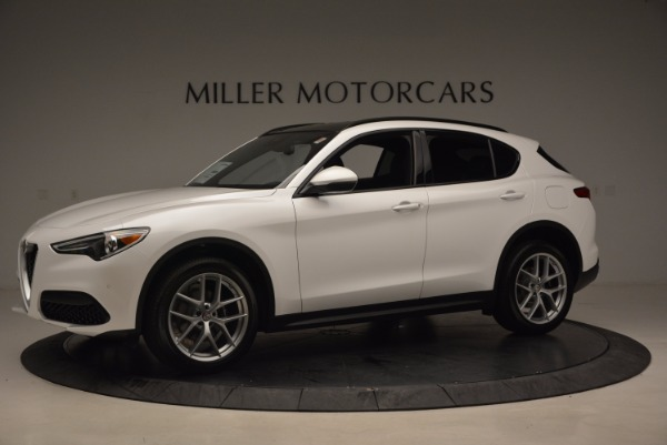 New 2018 Alfa Romeo Stelvio Ti Sport Q4 for sale Sold at Rolls-Royce Motor Cars Greenwich in Greenwich CT 06830 2