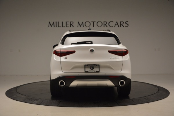 New 2018 Alfa Romeo Stelvio Ti Sport Q4 for sale Sold at Rolls-Royce Motor Cars Greenwich in Greenwich CT 06830 6