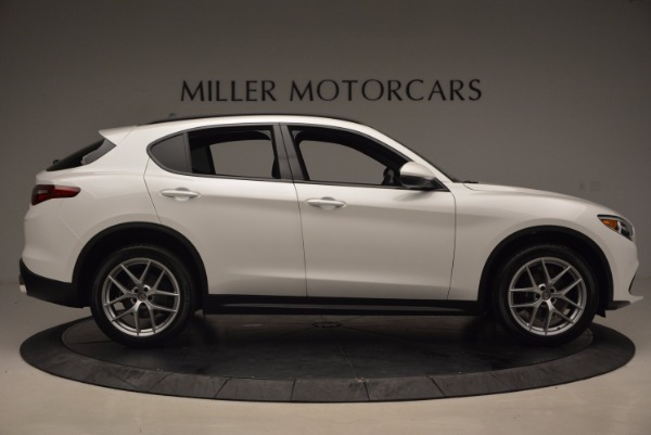 New 2018 Alfa Romeo Stelvio Ti Sport Q4 for sale Sold at Rolls-Royce Motor Cars Greenwich in Greenwich CT 06830 9