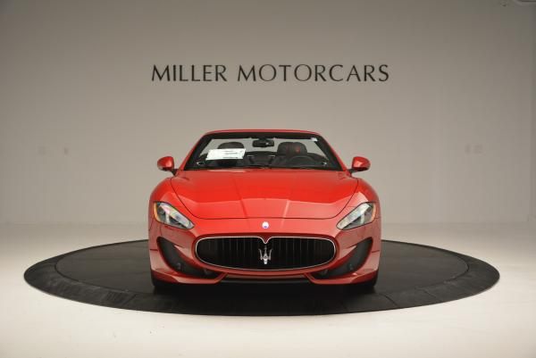 New 2017 Maserati GranTurismo Cab Sport for sale Sold at Rolls-Royce Motor Cars Greenwich in Greenwich CT 06830 12