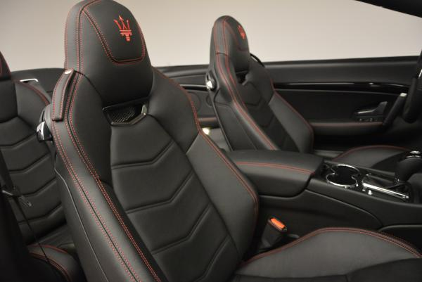 New 2017 Maserati GranTurismo Cab Sport for sale Sold at Rolls-Royce Motor Cars Greenwich in Greenwich CT 06830 27
