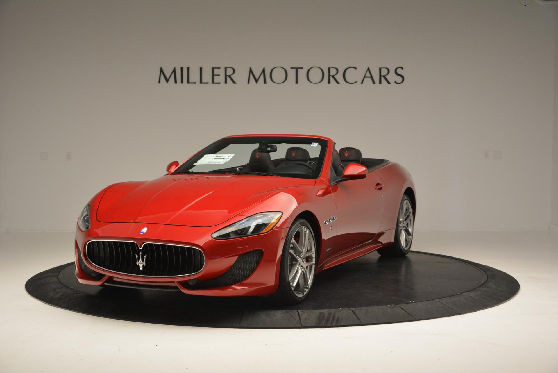New 2017 Maserati GranTurismo Cab Sport for sale Sold at Rolls-Royce Motor Cars Greenwich in Greenwich CT 06830 1