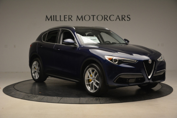 New 2018 Alfa Romeo Stelvio Ti Q4 for sale Sold at Rolls-Royce Motor Cars Greenwich in Greenwich CT 06830 11