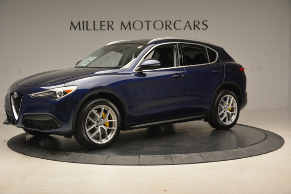 New 2018 Alfa Romeo Stelvio Ti Q4 for sale Sold at Rolls-Royce Motor Cars Greenwich in Greenwich CT 06830 2
