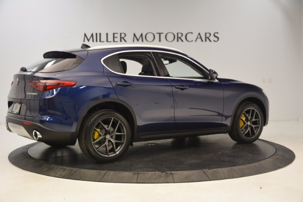 New 2018 Alfa Romeo Stelvio Ti Q4 for sale Sold at Rolls-Royce Motor Cars Greenwich in Greenwich CT 06830 8