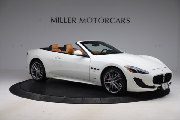 Used 2017 Maserati GranTurismo Convertible Sport for sale $84,900 at Rolls-Royce Motor Cars Greenwich in Greenwich CT 06830 10