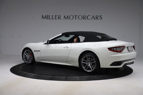 Used 2017 Maserati GranTurismo Convertible Sport for sale $84,900 at Rolls-Royce Motor Cars Greenwich in Greenwich CT 06830 16