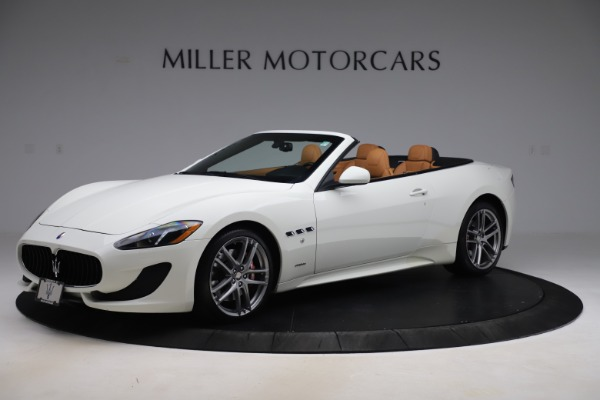 Used 2017 Maserati GranTurismo Convertible Sport for sale $84,900 at Rolls-Royce Motor Cars Greenwich in Greenwich CT 06830 2