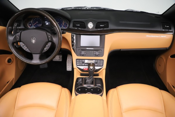 Used 2017 Maserati GranTurismo Convertible Sport for sale $84,900 at Rolls-Royce Motor Cars Greenwich in Greenwich CT 06830 26