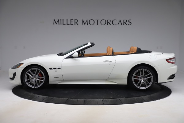 Used 2017 Maserati GranTurismo Convertible Sport for sale $84,900 at Rolls-Royce Motor Cars Greenwich in Greenwich CT 06830 3