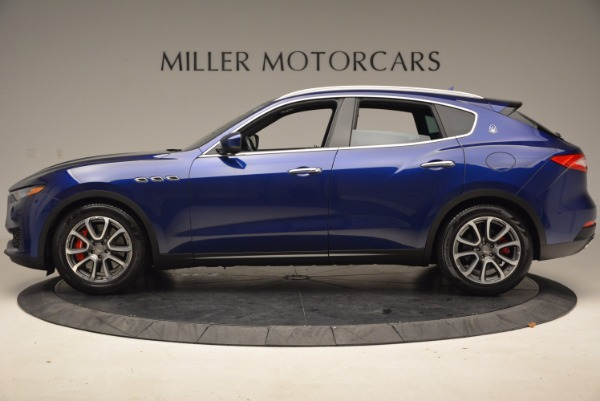 Used 2017 Maserati Levante S Q4 for sale Sold at Rolls-Royce Motor Cars Greenwich in Greenwich CT 06830 3