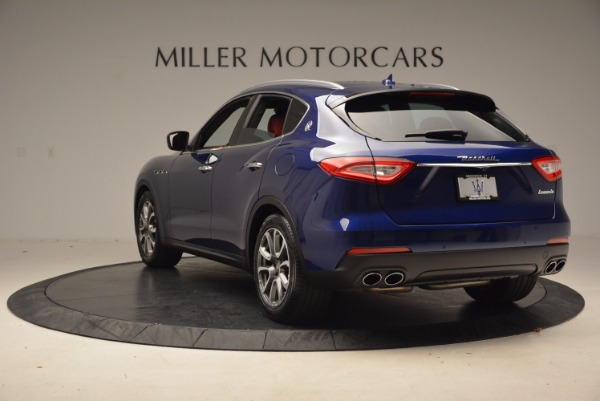 Used 2017 Maserati Levante S Q4 for sale Sold at Rolls-Royce Motor Cars Greenwich in Greenwich CT 06830 5